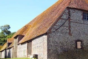 Stately Homes In Sussex | Firle | Alciston Tithe Barn