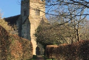 Stately Homes In Sussex | Firle | St Peter's Church, Firle