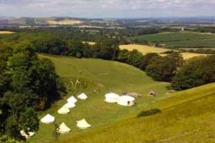 Firle Estate Lewes Glamping at Firle