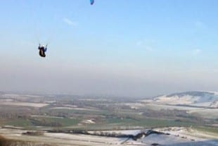 Stately Homes In Sussex | Firle | Paragliding at Firle