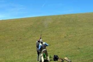 Firle Estate Clay Pidgeon Shooting