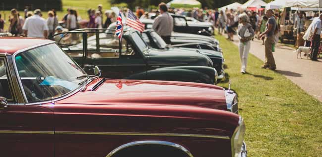 Events in Sussex | Firle Vintage Fair